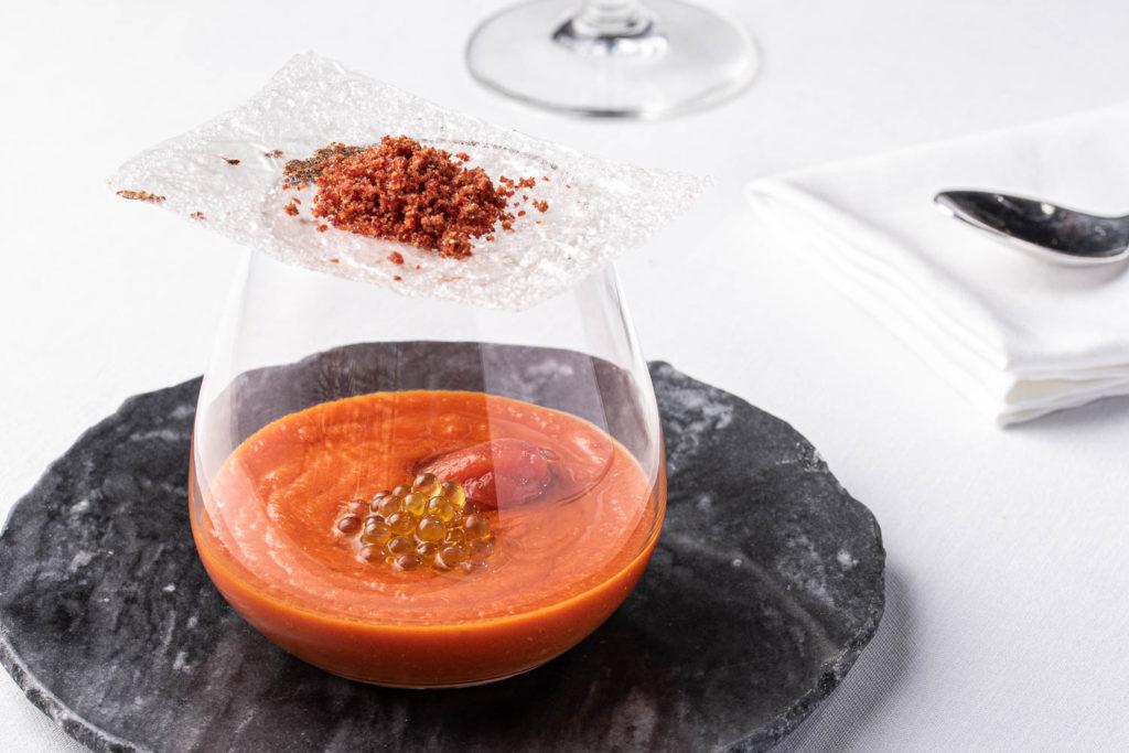 sopa fría de tomate raf