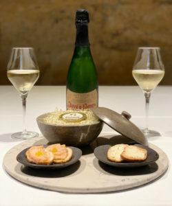aperitivo de caviar