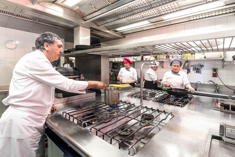 Cocina de Juan Moreno